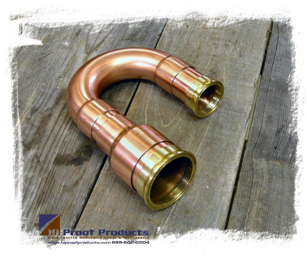 Copper cross over pipe