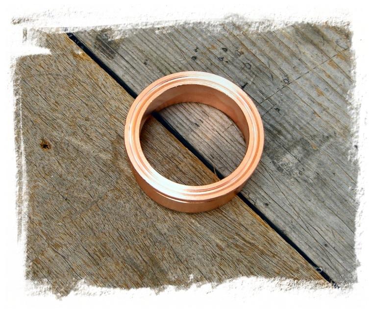 Quot copper ferrule ez flange